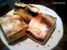 Pudingový koláč so smotanou (fotorecept) - Recept
