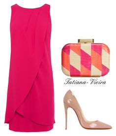 069 by tatiana-vieira on Polyvore featuring мода, Christian Louboutin and Badgley Mischka