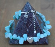 A personal favorite from my Etsy shop https://www.etsy.com/uk/listing/240859139/amazonite-necklace-with-sterling-silver