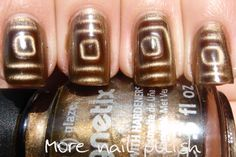 Awesome magnetic #Nails
