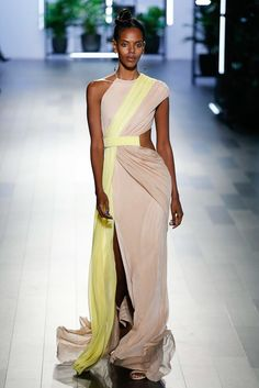 Cushnie et Ochs Spring 2018 Ready-to-Wear Fashion Show Collection Vogue Fashion, High Fashion, Fashion Week 2018, Overall, Fashion Show Collection, African Fashion, Dress Up, Swag Dress, Dress Shoes