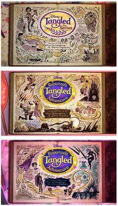 rapunzel's journal through the seasons Tangled Movie, Tangled Series, Frozen And Tangled, Tangled Funny, Disney Rapunzel, Tangled Rapunzel, Disney And Dreamworks, Disney Pixar, Punk Disney