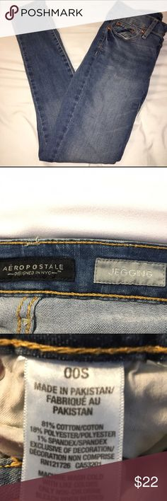 Light skinny jeans/jeggings from Aeropostale Size 00S light colored skinny jeans/jeggings from Aeropostale Aeropostale Jeans Skinny