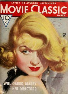 Constance Bennett, Movie Classic, March, 1934