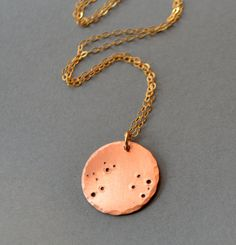 Constellation Necklace  Aries  Zodiac necklace by SeaSaltShop, $24.00