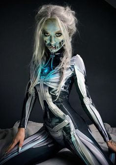 Halloween Costume Woman, Costumes for Women, Best Cosplay Costume Women, Steampunk Halloween Costume, Scary Halloween Costumes BADINKA Halloween Outfits, Steampunk Halloween Costumes, Robot Costumes, Women Halloween, Halloween Night, Halloween Cosplay, Halloween Makeup, Easy Halloween, Halloween Costumes Australia