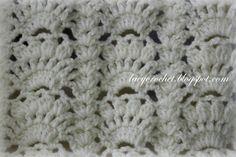 Fancy Shells Baby Afghan ~ free pattern