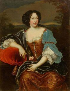 1670s - Louise de Kéroualle by circle of Pierre Mignard