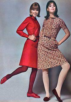 Villager dresses 1960s