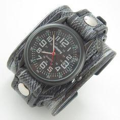 Leather Watch Military Watch Infantry Watch Men by loversbracelets Pánske  Hodinky ee3c31f6554