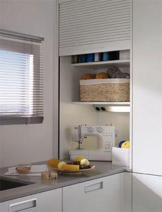 Santos: Kitchens designed to help you - - Modern Kitchen Cabinets, Kitchen Units, Kitchen Furniture, Kitchen Interior, Interior Design Living Room, Kitchen Design, Kitchen Shutters, Kitchen Doors, Kitchen Corner