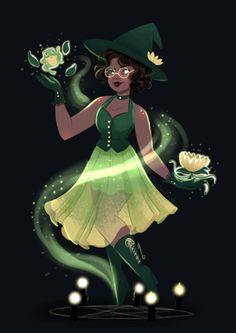 Another teen witch done. I'm really happy with her outfit in this one. Disney Artwork, Disney Fan Art, Disney Drawings, Disney And Dreamworks, Disney Pixar, Punk Disney, Disney Facts, Disney Girls, Disney Princess Tiana