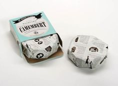 No more excuses for not eating cheese! - Fairview Cheese original Packaging by Coley Porter Bell
