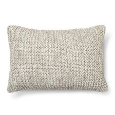Chunky Knit Oblong Decorative Pillow (20