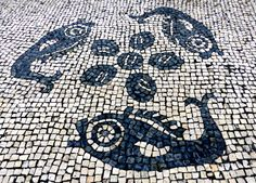 Macau Tiled Streets (fish pattern) - Photo taken by BradJill
