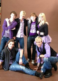 R5 wearing my color I want them to look like this when me and Riker and Ross get married