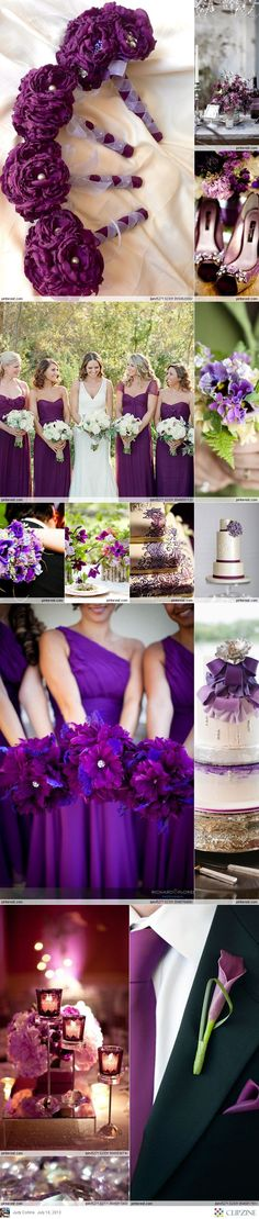 Purple Weddings #wedding #colors #carlhouse www.carlhouse.com