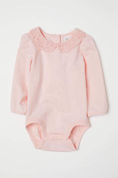56c0c1040f88 Bodysuit with Lace Collar. Baby WeeksPink KidsLace CollarBaby GiftsFuture BabyGirl  OutfitsBabies ...