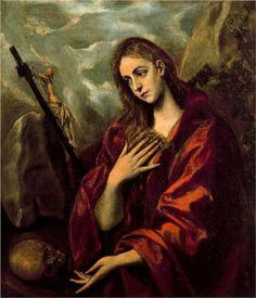 Penitent Magdalene - El Greco
