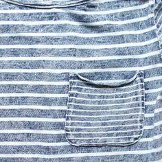 nico nico indigo striped boatneck - girl | Thumbe Line