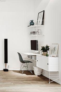 Office Desk, Furniture, Home Decor, Gift, Labor Positions, Work Spaces, Grey Dining Rooms, Hidden Storage, Modular Bookshelves