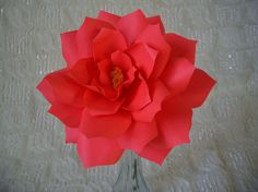 Large  Handmade Paper Flower   designed by DragonflyExpression