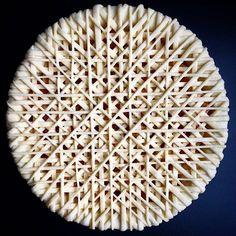 """Teiggitter sind der perfekte """"Deckel"""" für Obstkuchen amerikanischer Art wie zum Beispiel Apple Pie. Doch auch hierzulande sind die Raster aus Teigstreifen unentbehrlich, etwa wenn es darum geht, eine Linzer Torte nach Originalrezept zu zaubern.Die im U"""