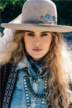 Double D Ranch Fall 2016 Old Pawn Hat - felt, beaver, concho, classic, distressed    http://www.cowgirlkim.com/double-d-ranch-fall-2016-old-pawn-hat.html
