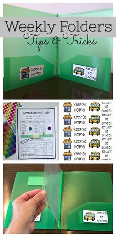 Take Home Folders/Homework Folders... Let's talk about how to set up, label, organize, and manage Take Home Folders.Getting my folders set up is always a huge priority during summer break. I NEVER wa