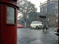 London in the rain, 1968.