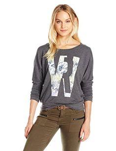 62cf87fa84 Women's Veruca Williamrast Flwr Sweatshirt William Rast, Sweatshirts  Online, Graphic Sweatshirt