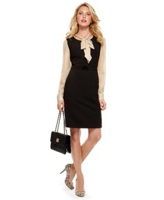 Work Your Wardrobe Dress and Blouse Look - Womens The Dress - Macy's