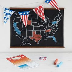 Track all the political intrigue of the 2016 Presidential election with this handmade, custom kit.