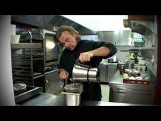 Mousse au chocolat blanc - Jean-Luc Rabanel - YouTube