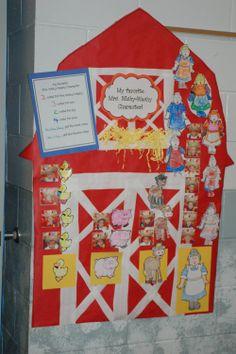 Mrs. Wishy Washy theme for summer school.