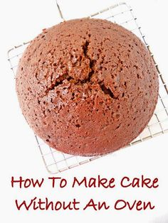 How to make cake in a pressure cooker, best chocolate cake made without an oven....step by step tutorial.
