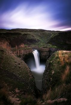 Palouse Falls has been photographed from just about every angle imaginable. I thought that this would be a unique composition for a long exposure - but within 5 minutes of setting up my camera people were already starting to crowd around!  More at www.paulweeksphotography.com.  #pacificnorthwest #photography #art #longexposure #waterfalls #easternwashington