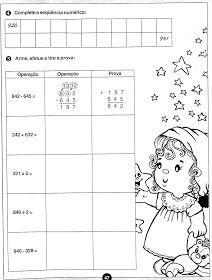 Atividades para imprimir do 3º ao 5º anos sempre a mão: só matemática 3º ao 5ºano Education, Math, Comics, Words, School, 1st Day Of School, Math Assessment, Addition And Subtraction, Math Lessons