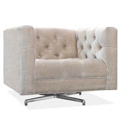 Baxter swivel chair