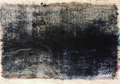 #landscape #binary #events #oil on #paper #horizon #lost