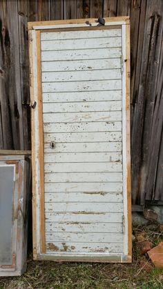 'New' door for my outbuilding