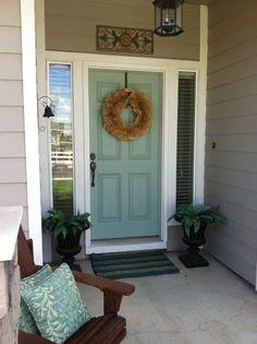 front door BM Wythe Blue
