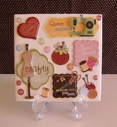 Sewing CUTE TABLE COASTER by crazydaisy12 on Etsy, $6.00
