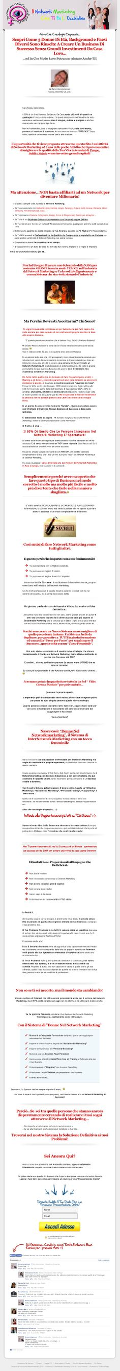 My Personal Website…in Italian… English Coming Soon…:-)