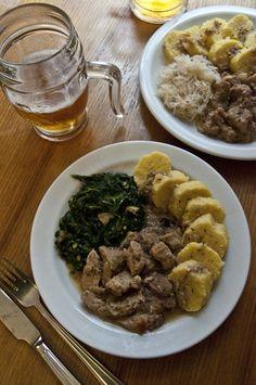 Moravský vrabec Pork, Beef, Kale Stir Fry, Meat, Pigs, Ox, Ground Beef, Steak