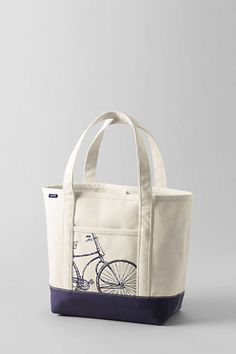 1b46dce898d7 Novelty Medium Canvas Open Top Tote from Lands End - I got tired of buying  the