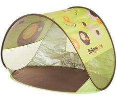 Baby Spielzeug :: Spielzeug für draussen :: UV-Babyschutzzelt - Babymoov, braun-grün