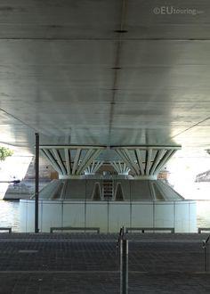 Pont Charles de Gaulle bridge in Paris France Pont Charles, Pont Paris, Gaulle, Reinforced Concrete, Train Station, Paris France, Bridge, Steel, City
