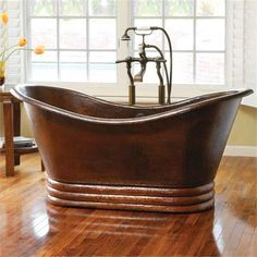 72 Aurora in Antique bathtub from Native Trails
