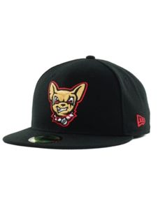 a44bfab1eb6 New Era El Paso Chihuahuas 59FIFTY Cap - Black 7 1 4 New Era Cap